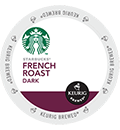 Starbucks® - French Roast K-Cup Packs