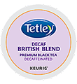 Tetley Tea - British Blend Decaf Tea K-Cup Packs