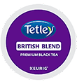 Tetley Tea - British Blend Tea K-Cup Packs