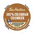 Tim Horton's - 100% Colombian K-Cup Packs