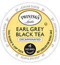 Twinings - Decaf Earl Grey Black Tea K-Cup Packs