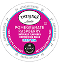 Twinings - Pomegranate Raspberry Iced Tea K-Cup Packs
