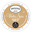 Twinings - Winter Spice Herbal Tea K-Cup Packs