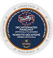 Timothy's - Decaf Hazelnut K-Cup Packs