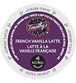 Timothy's - French Vanilla Latte K-Cup Packs